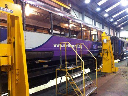 Corrosion Repairs Chrysalis Rail Chrysalis Rail